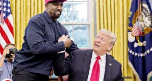 "Kanye West Reiterates Support For Trump: ""i'm A Black Guy With A Red [maga] Hat"""
